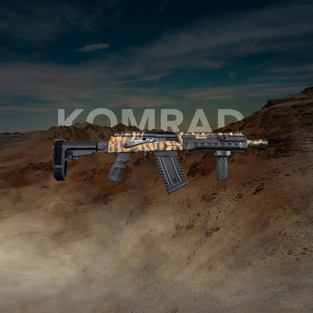 Kalashnikov Komrad Rifle