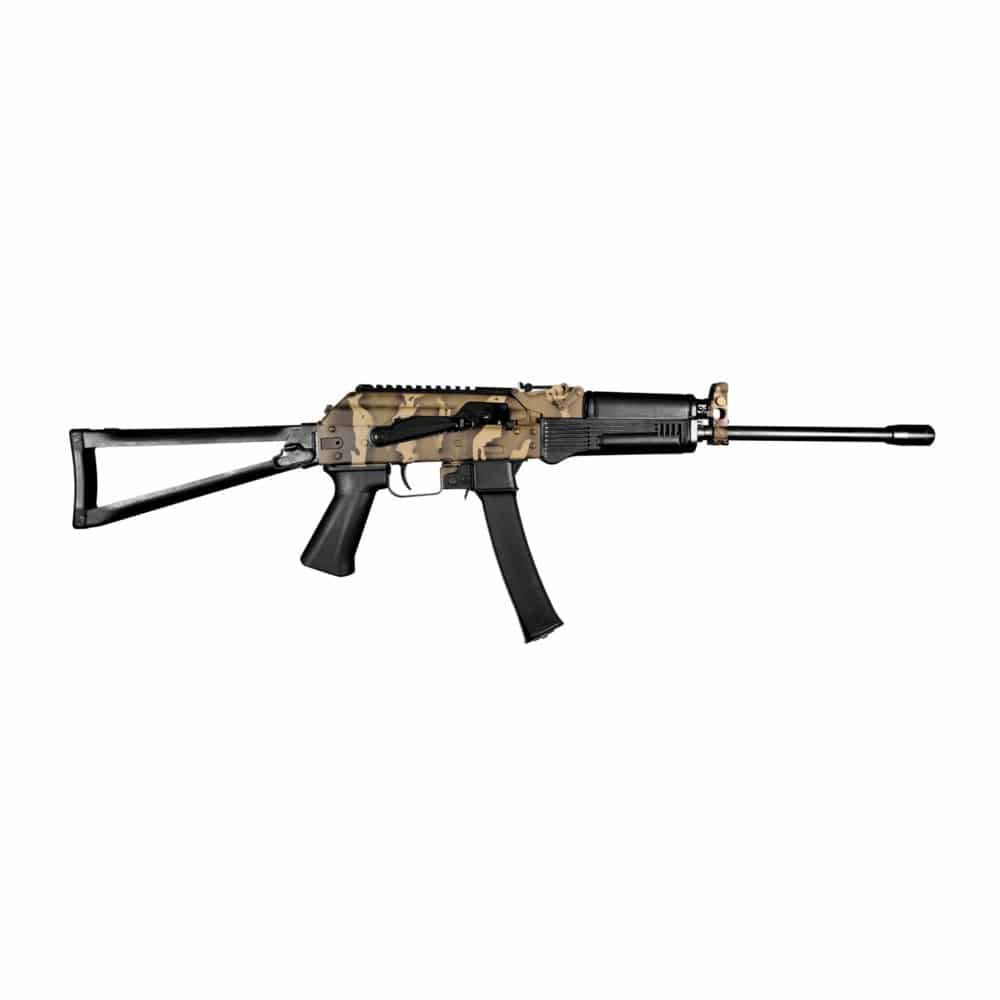 KR-9 JUNGLE CAMOFLAUGE 9X19MM RIFLE