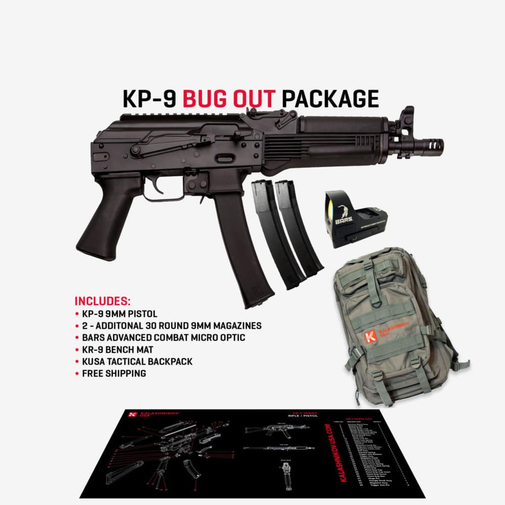 KP-9 Bug Out Package
