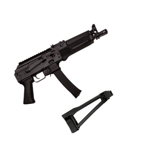 Kalashnikov USA KP-9 – 9x19mm Pistol with Triangle Pistol Brace