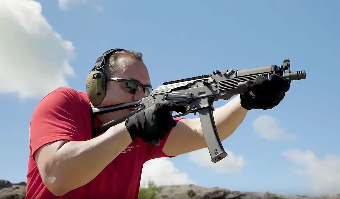 Figure 4 Kalashnikov USA has faithfully recreated-- and even improved upon--- the original Russian Vityaz in a semi-auto format for US civilians. Photograph courtesy of Kalashnikov-USA.